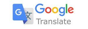 Logotipo de Google Translate